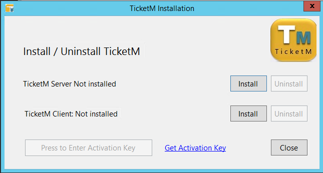 TicketM Installation
